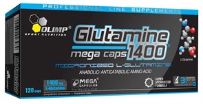 OLIMP L-GLUTAMINE MEGA CAPS (120 КАПС.)