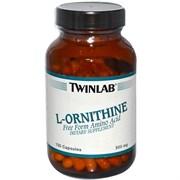 TWINLAB L-ORNITHINE (100 КАПС.)