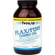 TWINLAB FLAX/FISH COMBO OIL (120 КАПС.)