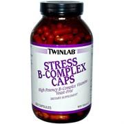 TWINLAB STRESS B-COMPLEX CAPS (250 КАПС.)